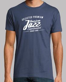 vendimia de jazz retro camiseta