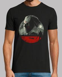 vendredi en chemise de sang de campement homme