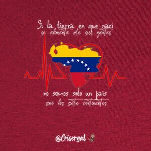 Camisetas Venezuela se alimenta de sus gentes