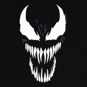Camisetas Venom Face