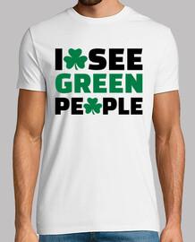 veo gente verde trébol