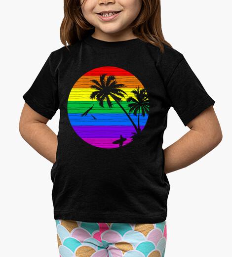 Ropa infantil verano arcoiris
