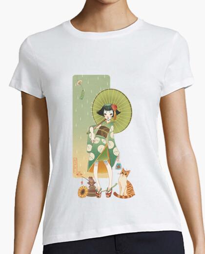 Camiseta verano kokeshi