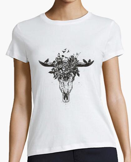 Camiseta verano muerto (bw)