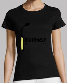 verbrannte