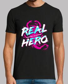 verdadero héroe / unidad / mens