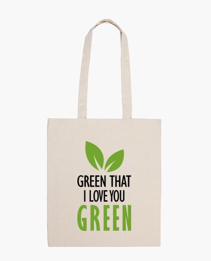 Bolsa Verde que te quiero verde
