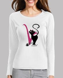 Versàtils Logo Camiseta Mujer  Manga Larga