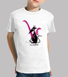 Versàtils Logo Colección Galgos Camiseta Niña Manga Corta