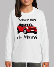 Versión mini de Mamá (letras negras)