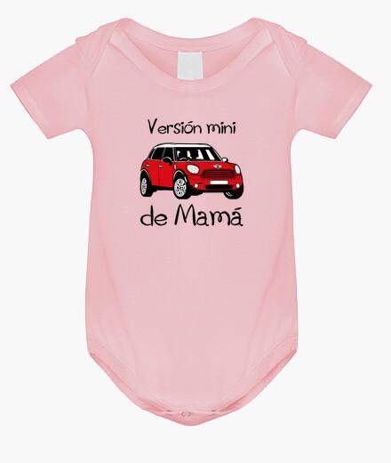 Ropa infantil Versión mini de Mamá (letras negras)