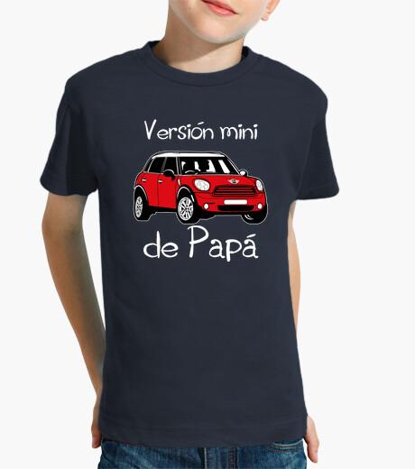Ropa infantil Versión mini de Papá (letras blancas)