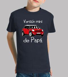 Versión mini de Papá (letras blancas)