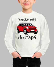 Versión mini de Papá (letras negras)