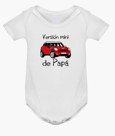 Ropa infantil Versión mini de Papá (letras negras)
