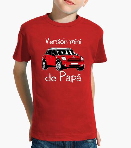 Abbigliamento bambino versione mini papà (lettere bianche)