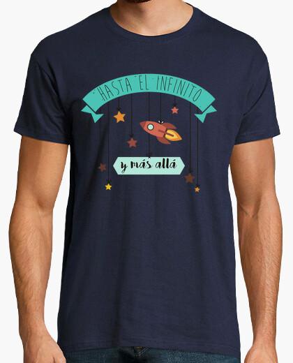 T-shirt verso l'infinito e più al di là