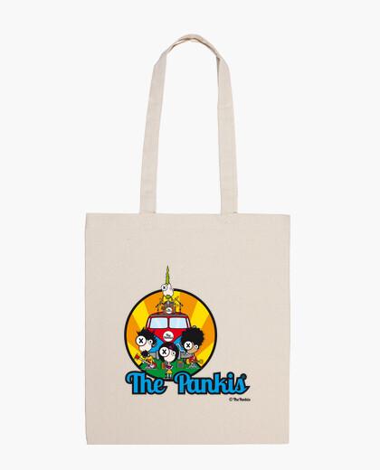 Vertical bag pankis the van