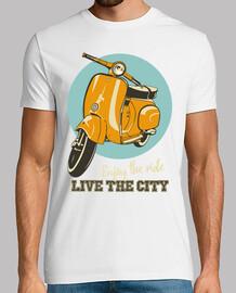 Vespa  classica -vivi la città