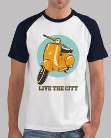 Vespa clásica - Vive la ciudad