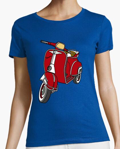 Camiseta Vespa roja