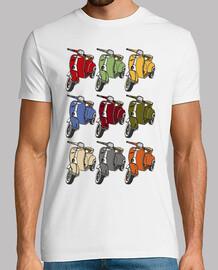 Vespas (colores vintage)