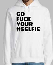 vete a la mierda tu selfie
