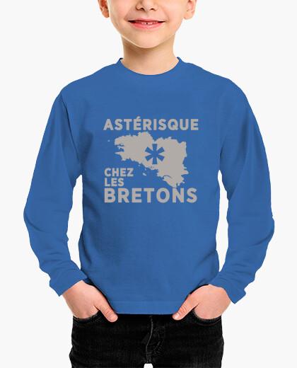 Vêtements enfant Astérisque chez les Bretons - enfant manche longue