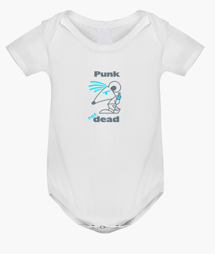 Vêtements enfant BABY Punk Not Dead Blue by Stef