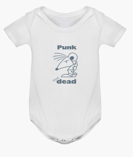 Vêtements enfant BABY Punk Not Dead Gris by Stef