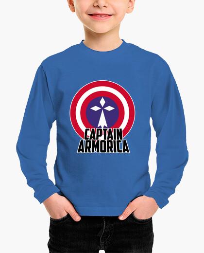 Vêtements enfant Captain Armorica - enfant manche longue
