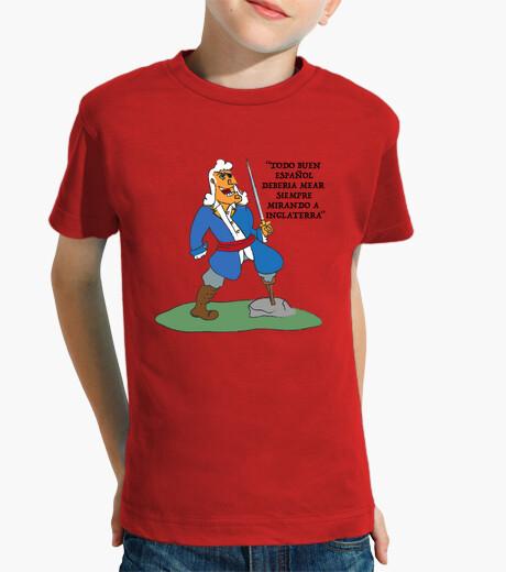 Vêtements enfant enfant, à manches courtes, blas rouge