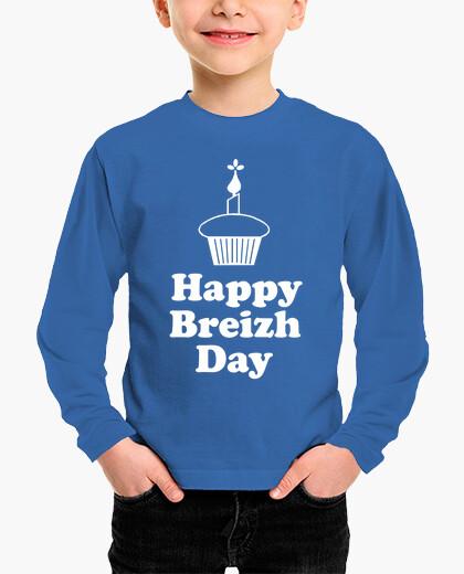 Vêtements enfant Happy Breizh Day - enfant manche longue