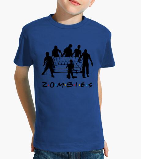 Vêtements enfant petite chemise zombies