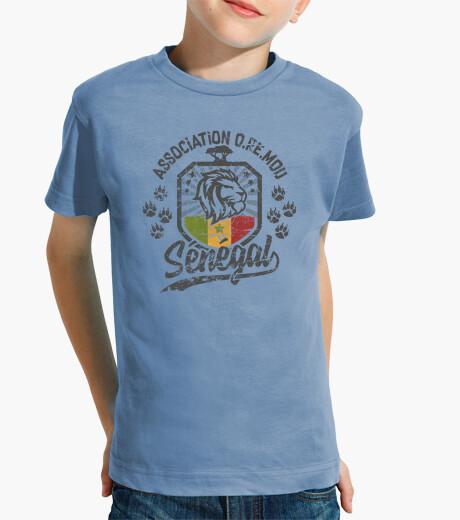 Vêtements enfant Sénégal Lion de la Téranga OReMou