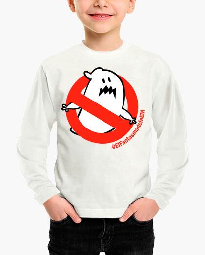 Vêtements enfant t-shirt à manches longues garçon fille le fantôme d'em
