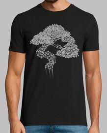 vettore di bonsai