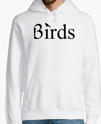 Hoodie Vögel