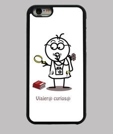 Viajero curioso-funda iPhone6