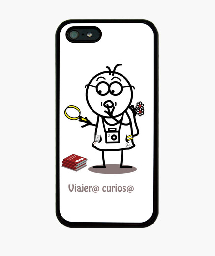 Viajero curioso-funda iPhone 5