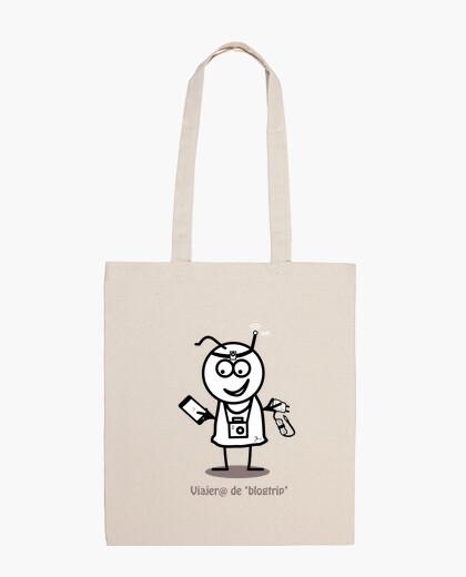 Viajero de blogtrip-Bolsa tela 100 algodón