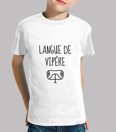 víbora de la lengua / humor