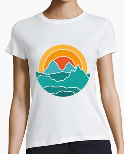 Camiseta vibraciones de montaña