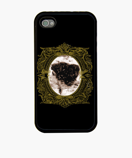 Funda iPhone Victorian Lady Golden Frame