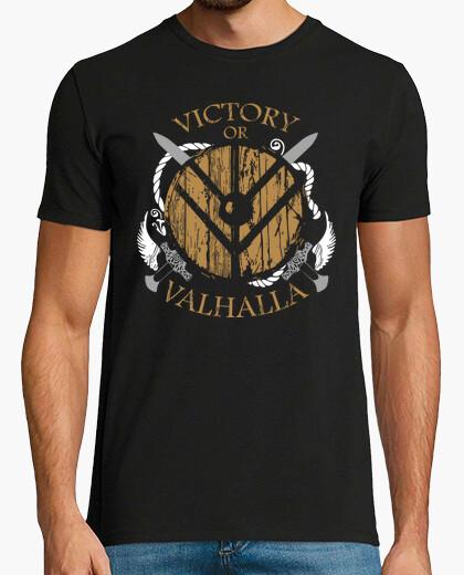 Tee-shirt Victory or Valhalla - Vikings