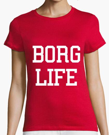 Camiseta vida borra