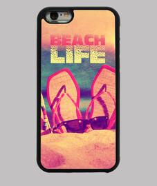 vida en la playa
