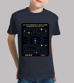 Videojuegos - Comecocos - Pacman (fondo negro)