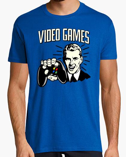 Camiseta Videojuegos cartel retro | laTostadora