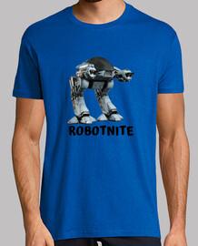 Videojuegos Robotnite Gamer. Hombre, manga corta, azul royal, calidad extra